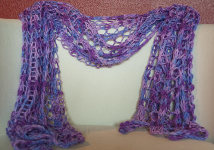 Summer Lace Shawl | katili*made | http://katilimade.com