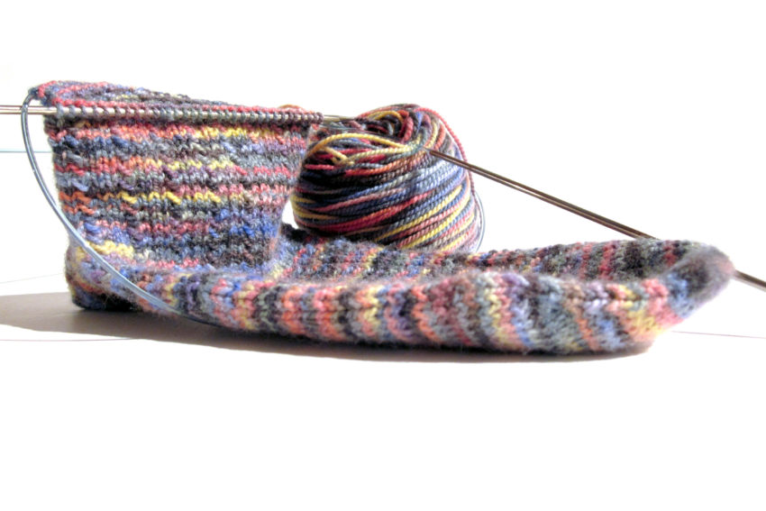 FO - Fake Party Sock #1