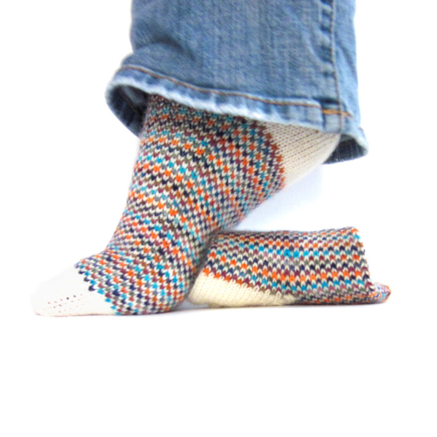 FO - Spot Check Sock | katili*made | https://www.katilimade.com