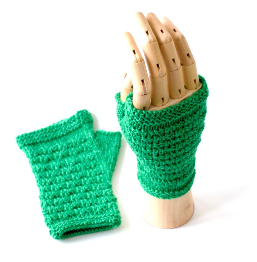 Grete Test Knit Mitt