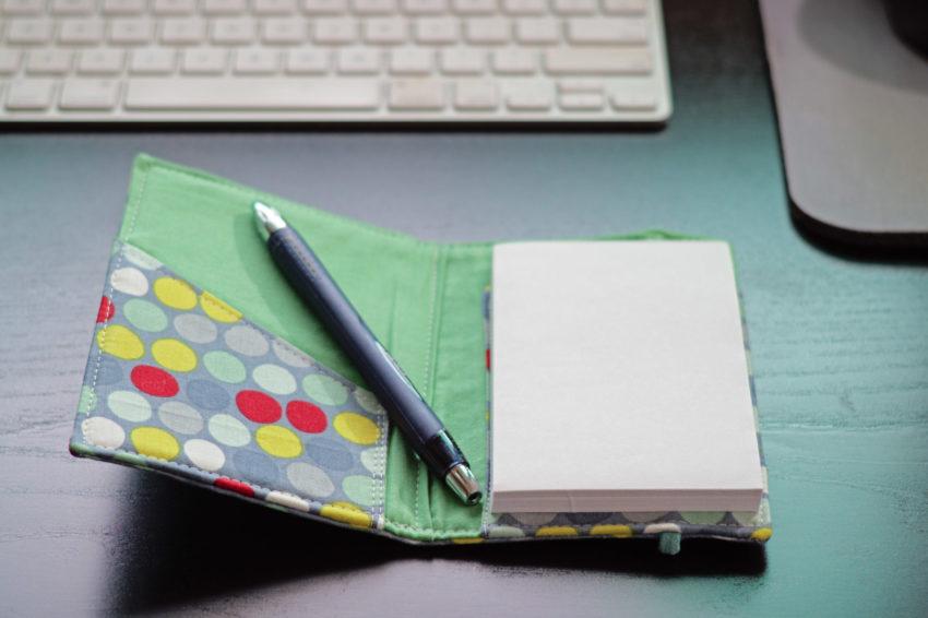 Notebook holder