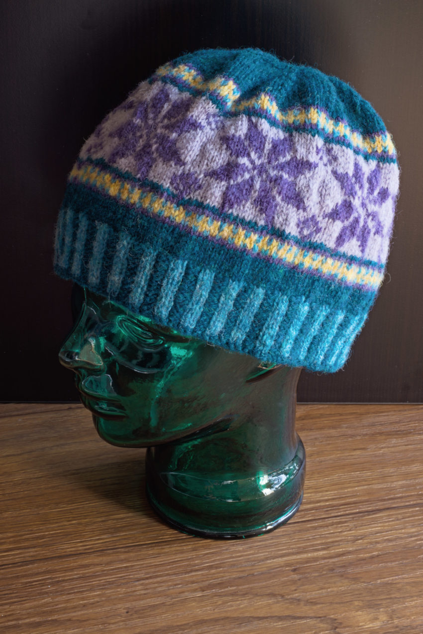 Fair Isle Hat | katili*made | https://www.katilimade.com