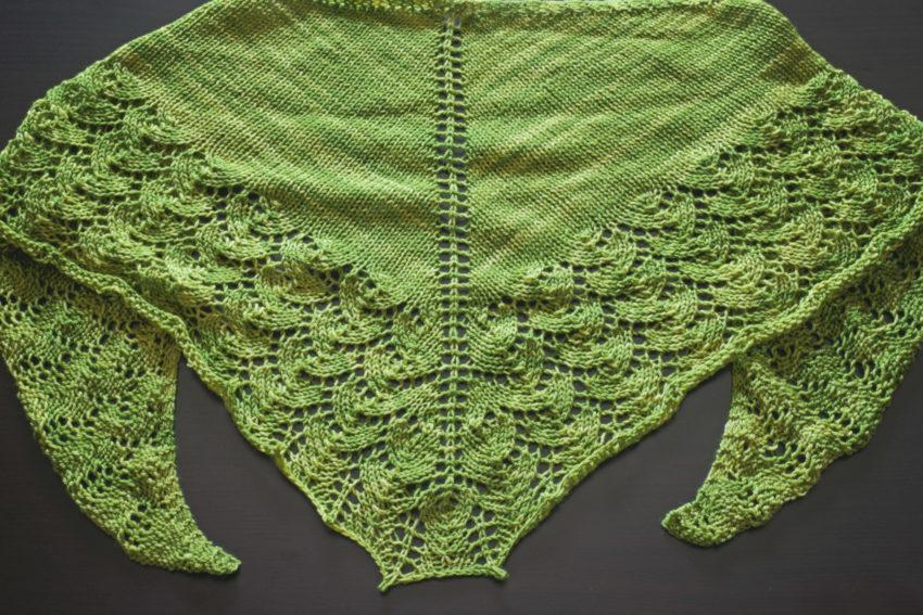 Lettuce Ishbel shawl | katili*made | https://www.katilimade.com