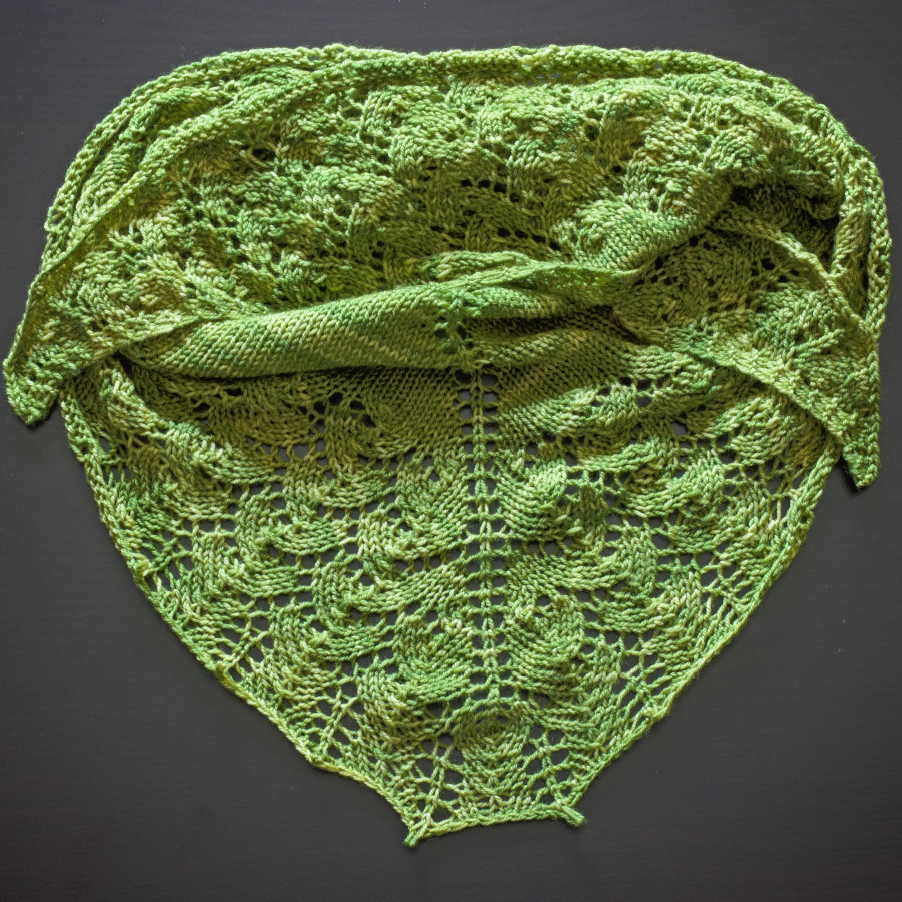 Lettuce Ishbel shawl | katili*made | http://www.katilimade.com