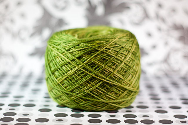 Malabrigo Sock in Lettuce | katili*made | https://www.katilimade.com
