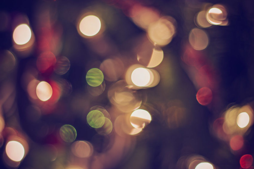 Christmas Tree Bokeh | katili*made | https://www.katilimade.com
