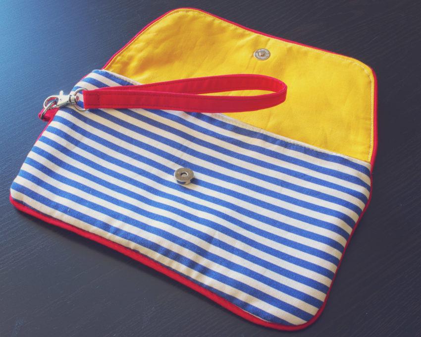 Nautical Envelope Clutch | katili*made | https://www.katilimade.com
