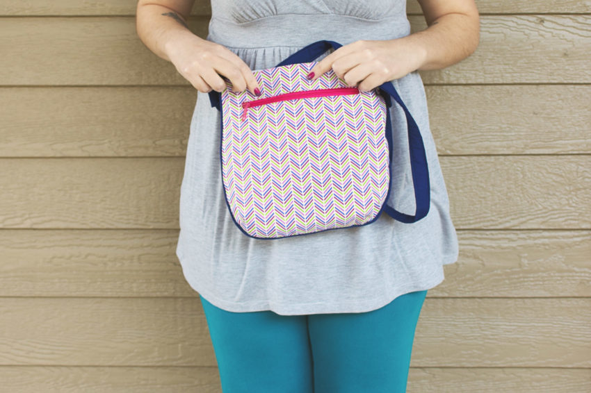 Blue and Pink Trail Tote | katili*made | https://www.katilimade.com