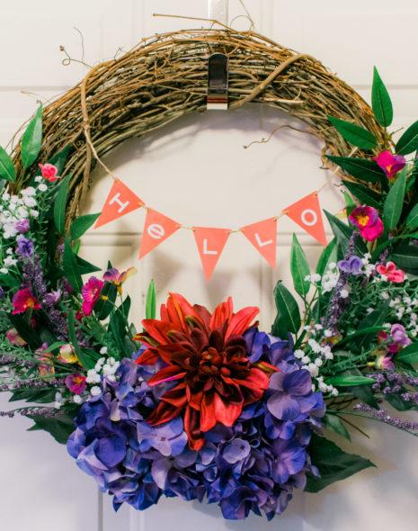 Hello Spring Wreath