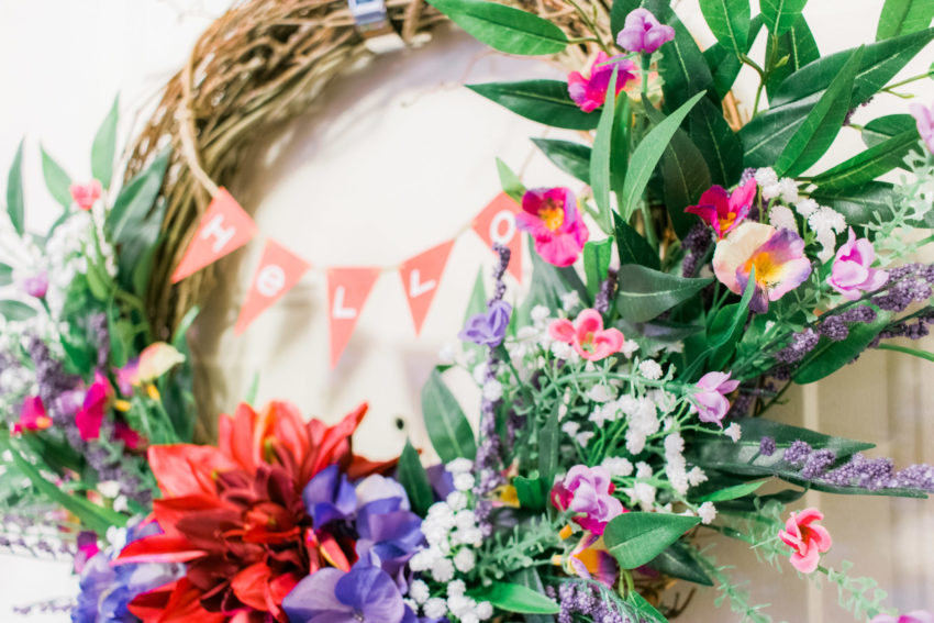 Hello Spring Wreath | katili*made | https://www.katilimade.com