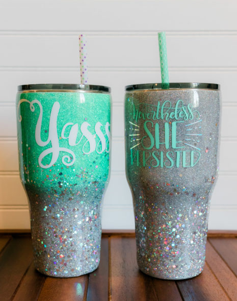 Something New: Tumblers!