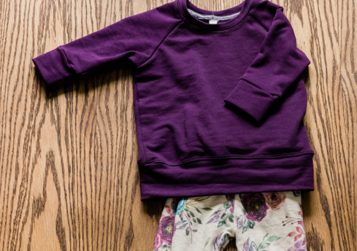 Plum Floral Outfit | katili*made | katilimade.com