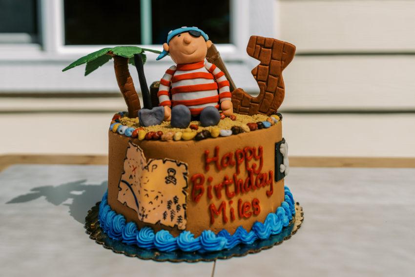 Miles Turns 3: A Pirate Celebration